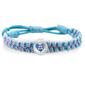 Heart To Lax Adjustable Woven SportSNAPS Bracelet