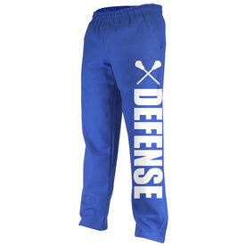 Lacrosse Fleece Sweatpants Lacrosse Defense Bold
