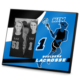 Girls Lacrosse Photo Frame Personalized Girls Lacrosse Player