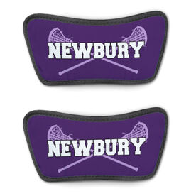 Girls Lacrosse Repwell® Sandal Straps - Personalized with Sticks