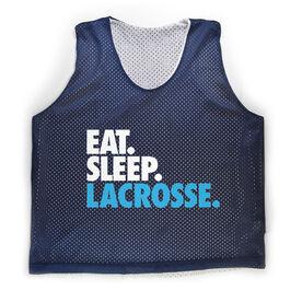 Girls Lacrosse Pinnie Eat. Sleep. Lacrosse.