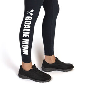 Lacrosse Leggings Goalie Mom