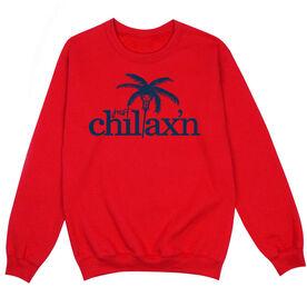 Lacrosse Crew Neck Sweatshirt - Just Chillax'n