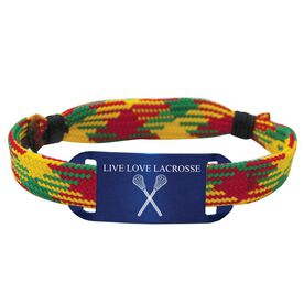 Lacrosse Shooting String Bracelet Live Love Lacrosse Adjustable Shooter Bracelet