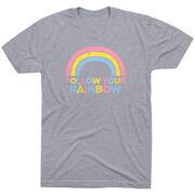 Short Sleeve T-Shirt - Follow Your Rainbow