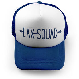 Girls Lacrosse Trucker Hat - Lax Squad