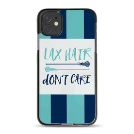 Girls Lacrosse iPhone® Case - Lax Hair Don't Care