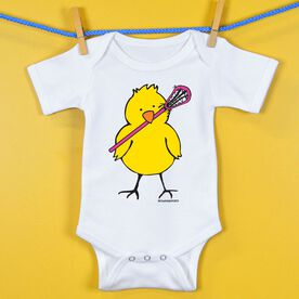 Baby One-Piece Lacrosse Peep Tall