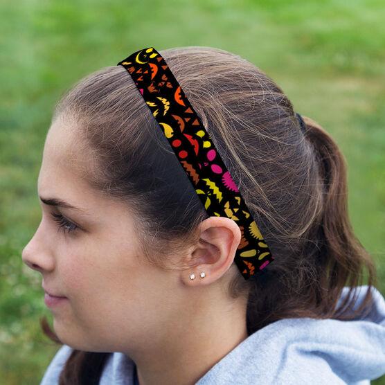 Athletic Juliband No-Slip Headband - Spooky Pumpkins