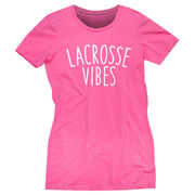 Girls Lacrosse Women's Everyday Tee - Lacrosse Vibes