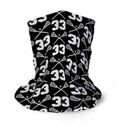 Girls Lacrosse Multifunctional Headwear - Custom Team Number Repeat RokBAND