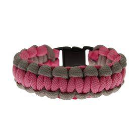 Sidewall Shooter Paracord Bracelet - Pink