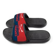Girls Lacrosse Repwell® Slide Sandals - Team Name Colorblock