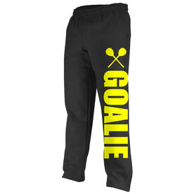 Lacrosse Fleece Sweatpants Lacrosse Goalie Bold