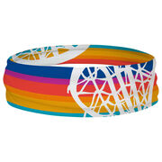 Girls Lacrosse Multifunctional Headwear - Sunset Stripes RokBAND