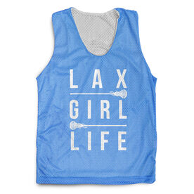 Girls Lacrosse Racerback Pinnie - Lax Girl Life