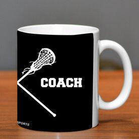 Girls Lacrosse Coffee Mug Girls Coach
