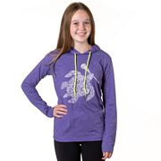 Girls Lacrosse Lightweight Hoodie - LAX Turtle