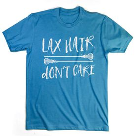 Girls Lacrosse T-Shirt Short Sleeve Lax Hair Don't Care