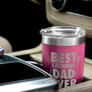 Girls Lacrosse 20 oz. Double Insulated Tumbler - Best Dad Ever