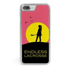 Girls Lacrosse iPhone® Case - Endless Lacrosse Girl