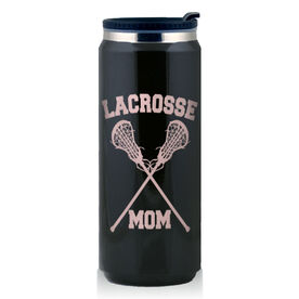 Stainless Steel Travel Mug Lacrosse Mom Girls Sticks