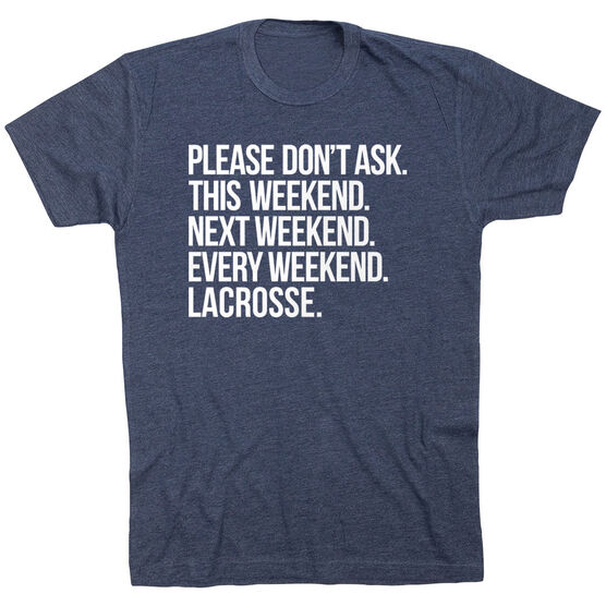 Lacrosse Short Sleeve T-Shirt - All Weekend Lacrosse