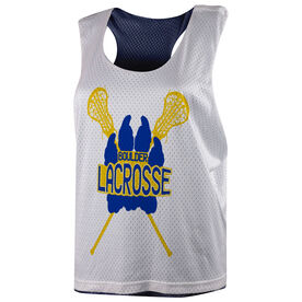 Girls Lacrosse Racerback Pinnie - Custom Logo
