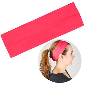 RunTechnology Tempo Performance Headband - Eva Pink