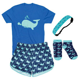 Lax Whale Girls Lacrosse Outfit