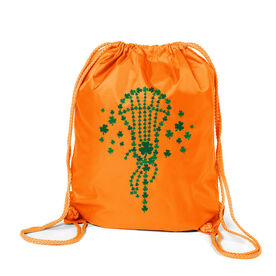 Girls Lacrosse Sport Pack Cinch Sack - Shamrock Lacrosse Stick