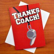 Add a Thanks Coach Card