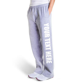 Fleece Sweatpants - Your Text