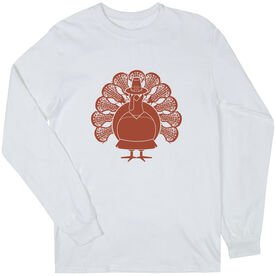 Girls Lacrosse Long Sleeve T-Shirt - Turkey Player