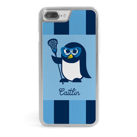 Girls Lacrosse iPhone® Case - Lax Penguin