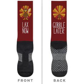 Lacrosse Printed Mid-Calf Socks - Lacrosse Turkey [Large] -SS