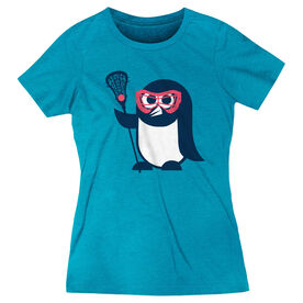 Girls Lacrosse Women's Everyday Tee - Short Sleeve Penguin