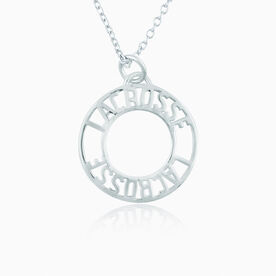 Always Lacrosse Pendant Necklace