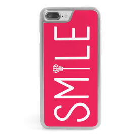 Girls Lacrosse iPhone® Case - Lax Stick Smile