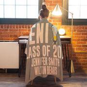 Girls Lacrosse Premium Blanket - Personalized Lacrosse Senior Class Of