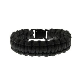 Sidewall Shooter Paracord Bracelet - Black