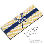 Lacrosse Hook Board Personalized Girl Lacrosse Sticks Chevron