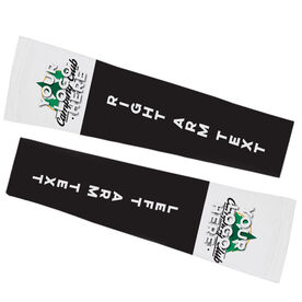 Printed Arm Sleeves - Your Logo With Text