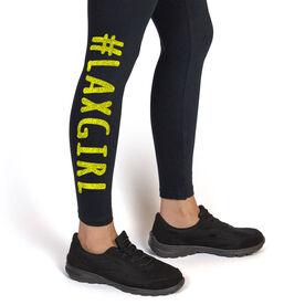 Girls Lacrosse Leggings #LAXGIRL