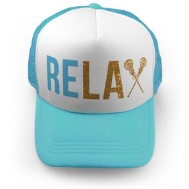 Girls Lacrosse Trucker Hat - Relax