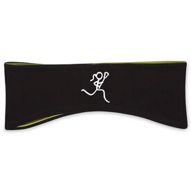 Lacrosse Reversible Performance Headband Stick Figure Lax Girl
