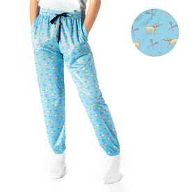 Girls Lacrosse Lounge Pants - Lax Dog