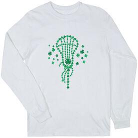 Girls Lacrosse Long Sleeve T-Shirt - Shamrock Lacrosse Stick