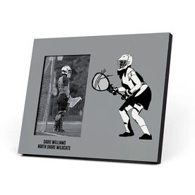 Girls Lacrosse Photo Frame - Goalie