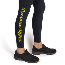 Girls Lacrosse Leggings Lacrosse Mom